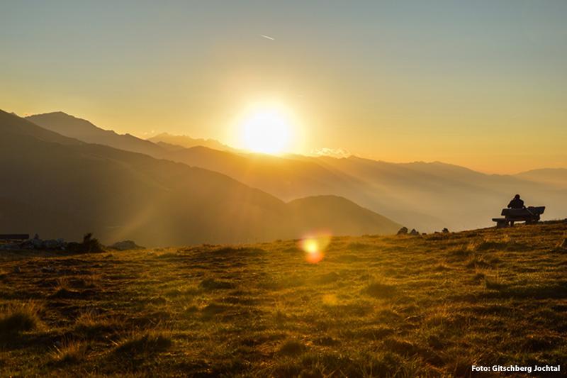 Sonnenuntergang in der schönsten Ferienregion Südtirols erleben