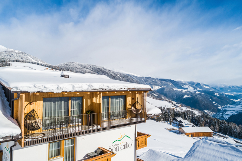 Winterurlaub in der Pension Sonnenhof im Pustertal