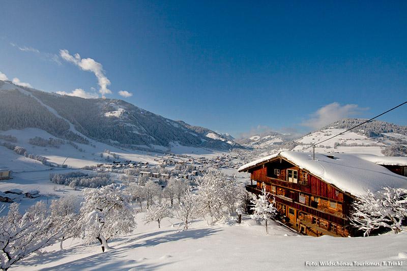 Winterurlaub in der Wildschönau