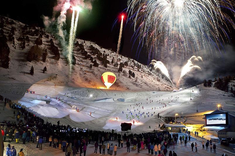 Skishow Obergurgl
