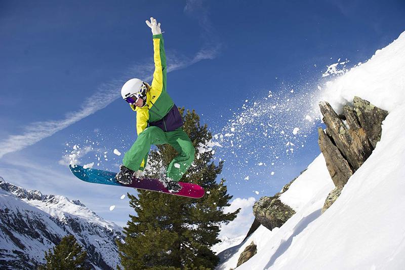 Snowboarden im Öztal - Tirol