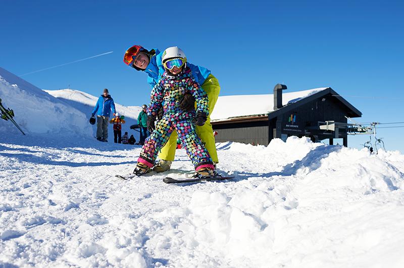 Skifahren lernen in Obersdorf Fellhorn Kanzelwand