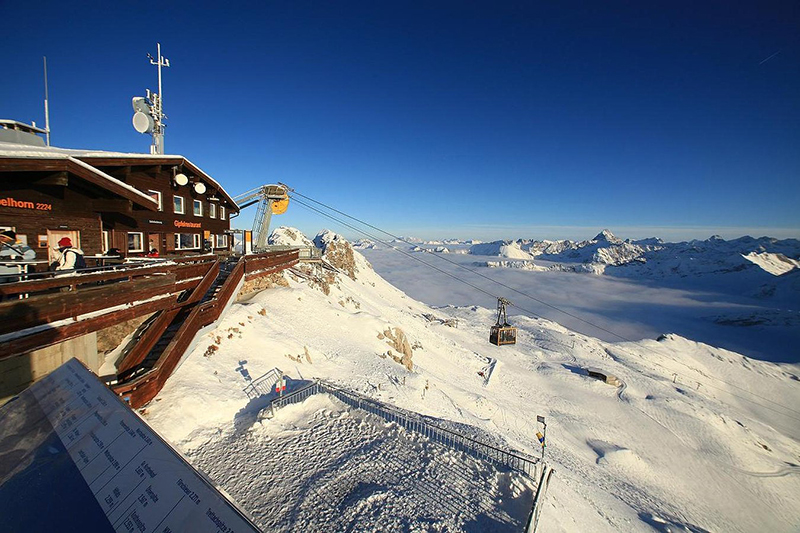 Gipfelhütte Nebelhorn