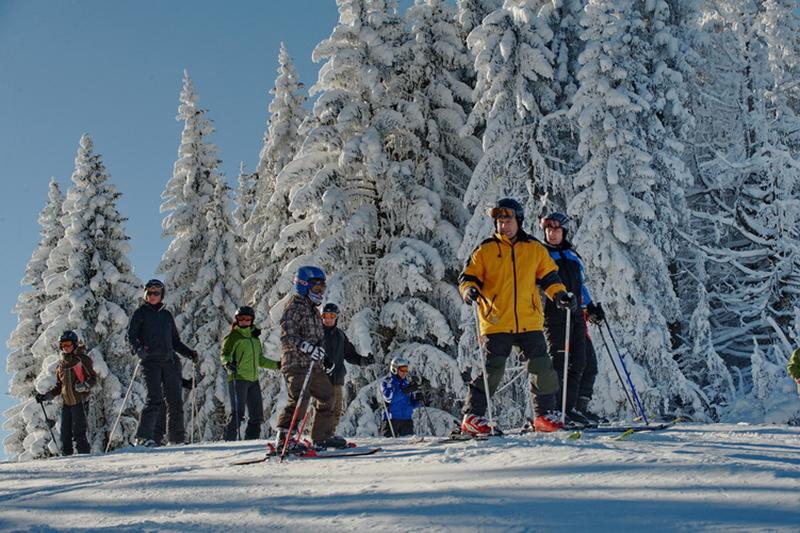 Familienski in der Skiarena Steibis
