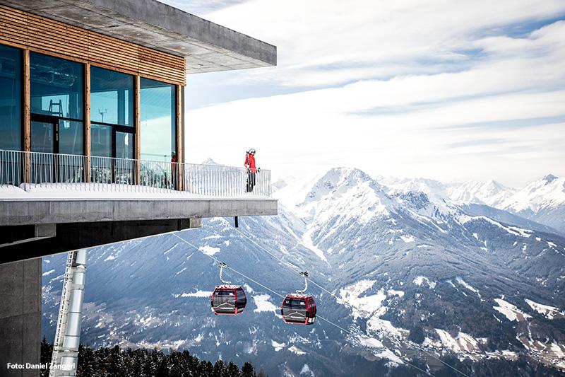 Skigebiet Patscherkofel in der Region Innsbruck in Tirol