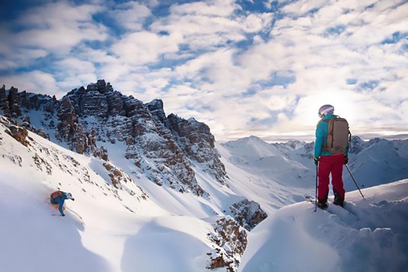 Freeriden im Skigebiet Patscherkofel