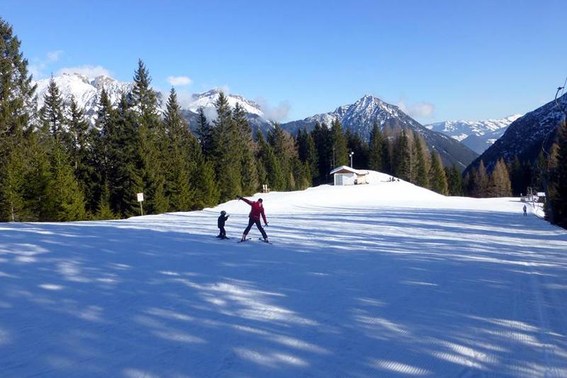 Übungsgelände Pertisau Region Achensee in Tirol
