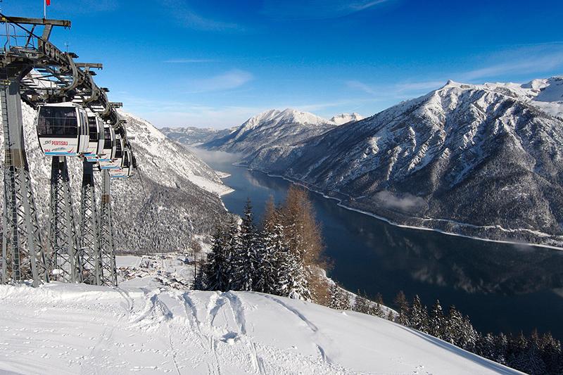 BBlick auf den Achensee in Tirol - Österreich