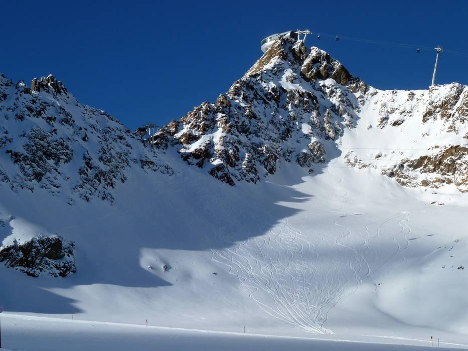 Freeridegebiet Pitztaler Gletscher