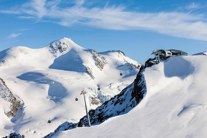 Panorama Wildspitzbahn im Pitztal Tirol