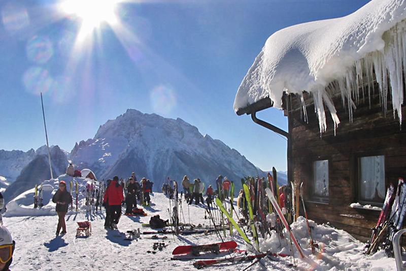 Skihütte Ramsau - Hochschwarzeck in Oberbayern
