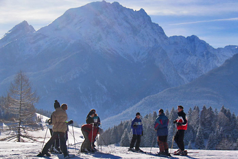 Skifahren in Ramsau Hochschwarzeck