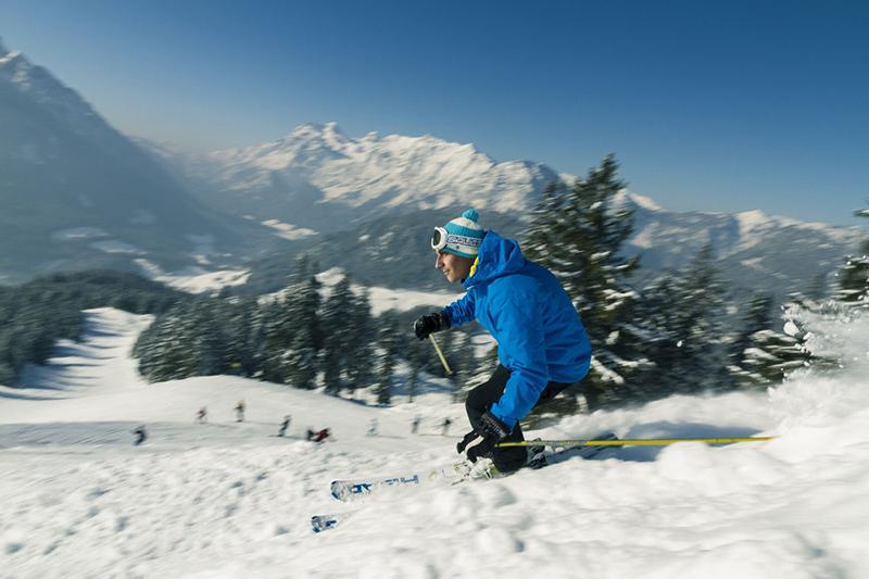 Wintersport in Ramsau Hochschwarzeck