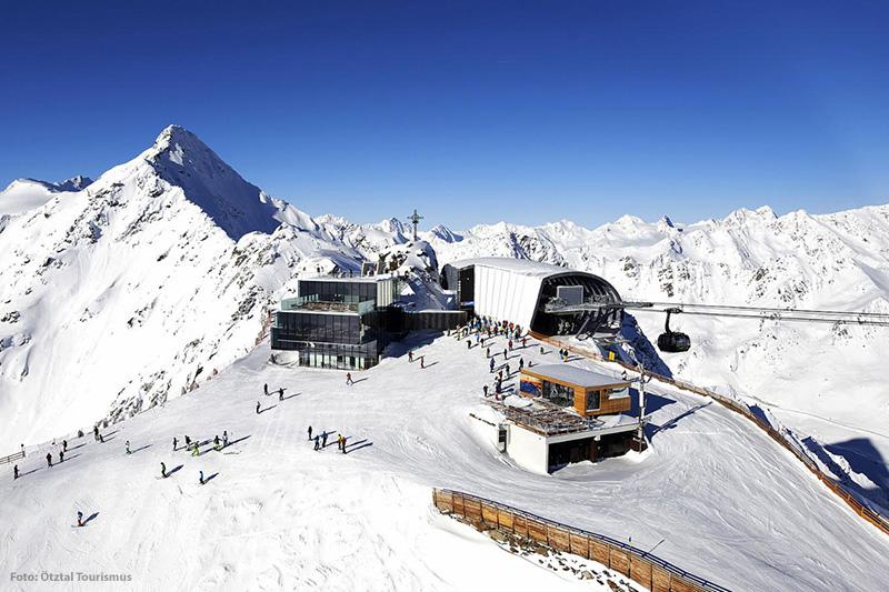 Bergbahnstation in Sölden