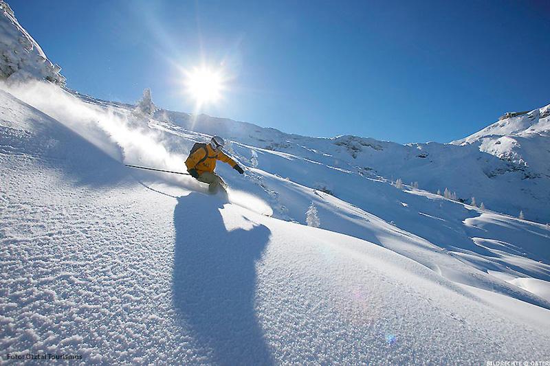 Skigebiet Sölden im Öztal in Tirol