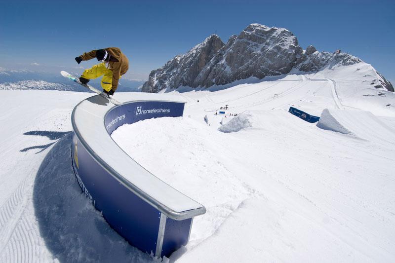 Snowpark 4-Berge-Skischaukel Schladming-Dachstein