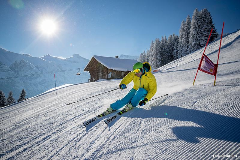 Skifahren in Adelboden - Berner Oberland