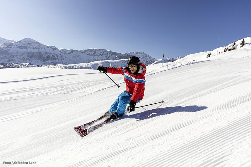 Skifahren im Skigebiet Adelboden-Lenk