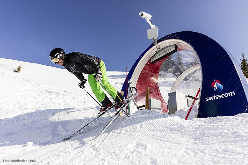 Swisscom Skimovie-Strecke