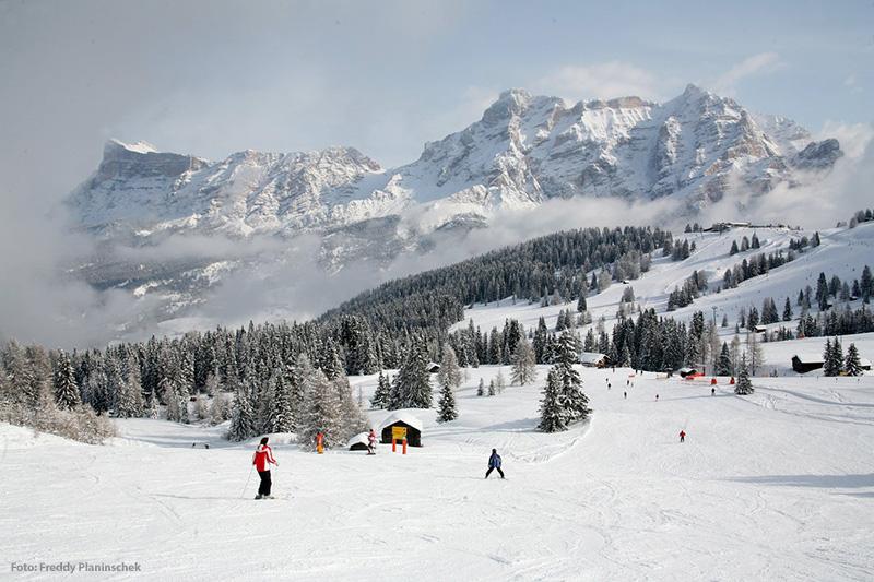 Skifahren im Skigebiet Alta Badia