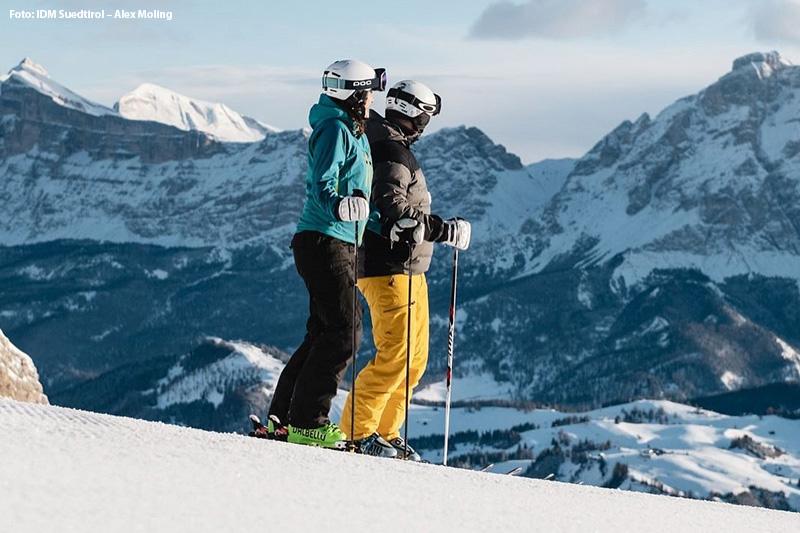 In Alta Badia sind Sie mitten im schönsten Panorma-Skigebiet der Welt