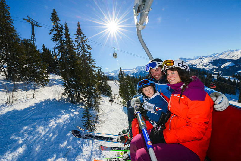 Familienfreundlicher Skiurlaub in Dorfgastein