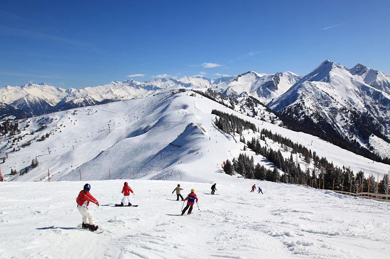 Skifahren in Dorfgastein