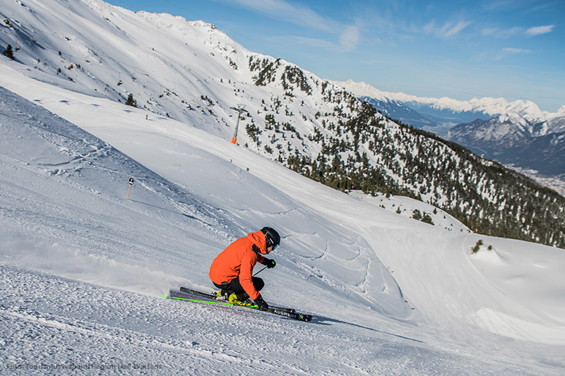 Skifahren in der Ferienregion Innsbruck