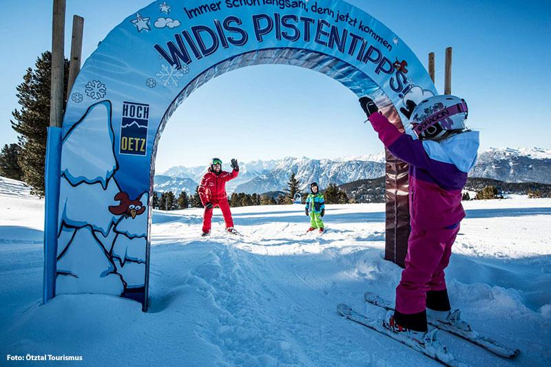 Sicher Skifahren mit WIDIs Pistentipps