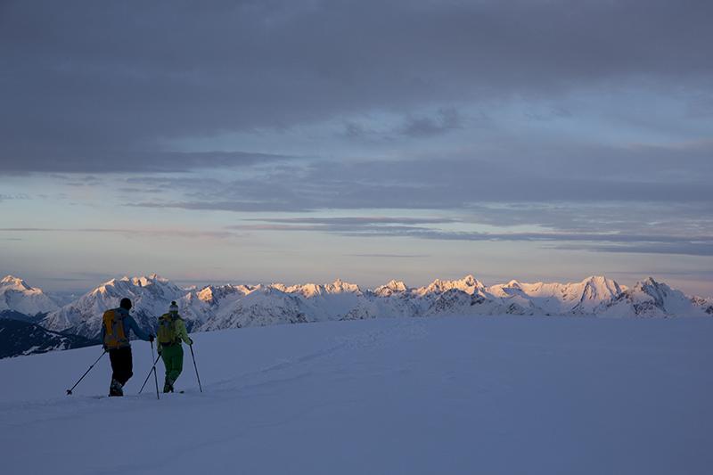 Skitour zum Pirchkogel von Westen
