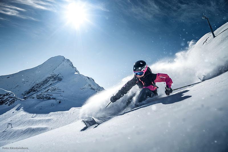Skifahren im Skigebiet Kitzsteinhorn/Maiskogel