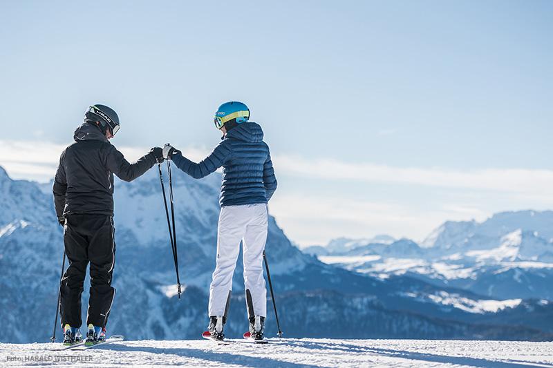 Skifahren im Skigebiet Kronplatz