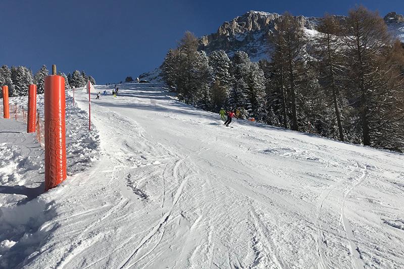 Abfahrt in Obereggen