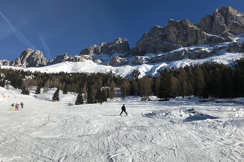 Skigebiet Latemar - Obereggen