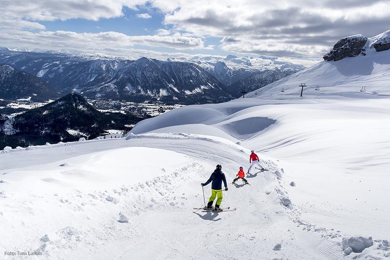 Skifahren Loser Altaussee Ausseerland Salzkammergut