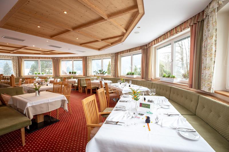Restaurant im Hotel Marica