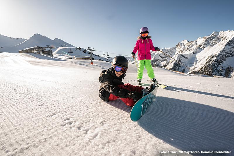 Familienskiurlaub in Mayrhofen