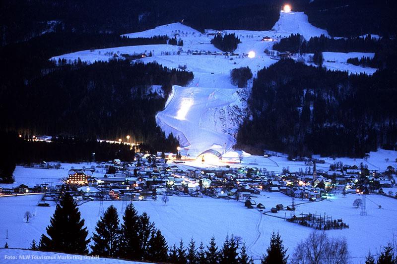 Nachtskilauf am Nassfeld