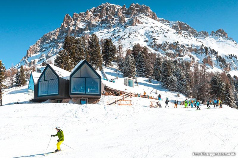 Genuss auf 2.096 m und das mitten im Skigebiet
