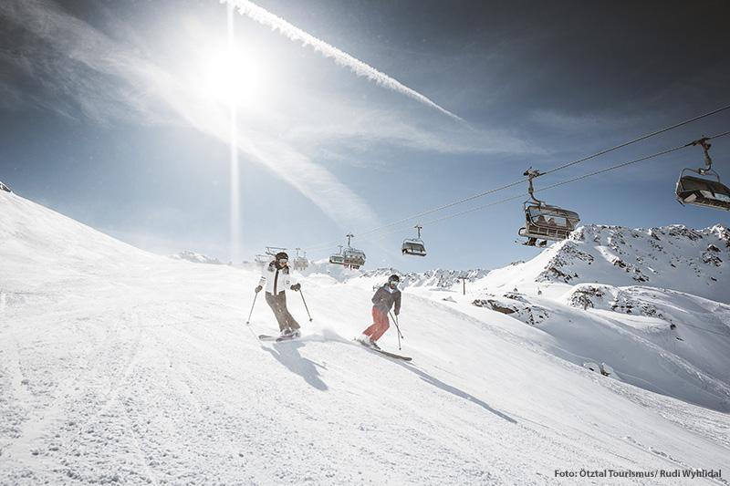 Skifahren in Hochgurgl