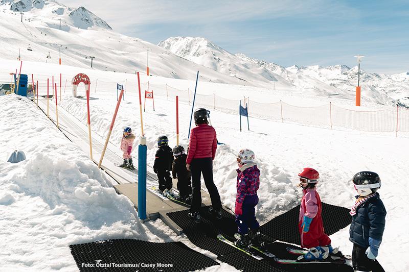 Skikindergarten in Obergurgl-Hochgurgl