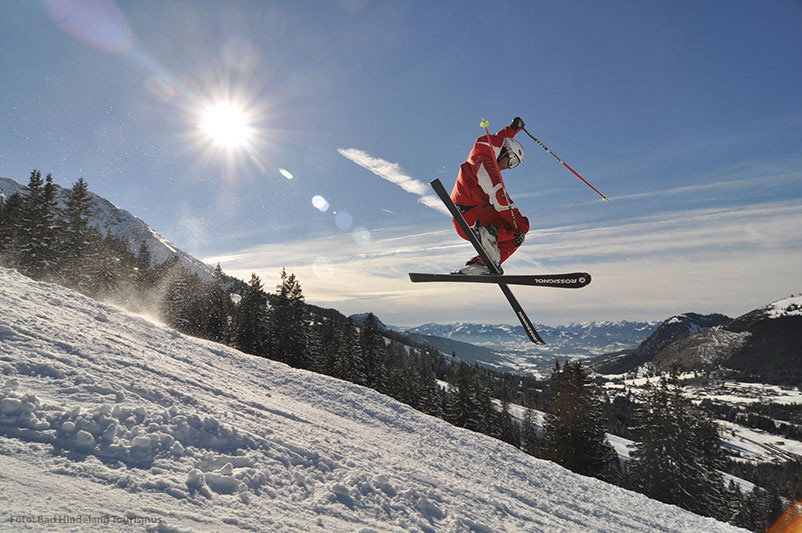 Oberjoch - Skigebiet auf 1.200 m