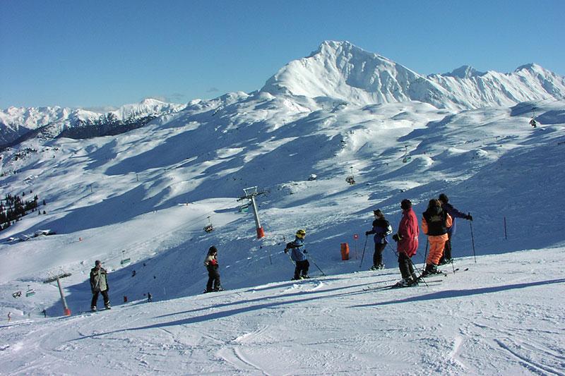 Das Skigebiet Ratschings-Jaufen ist sehr familienfreundlich