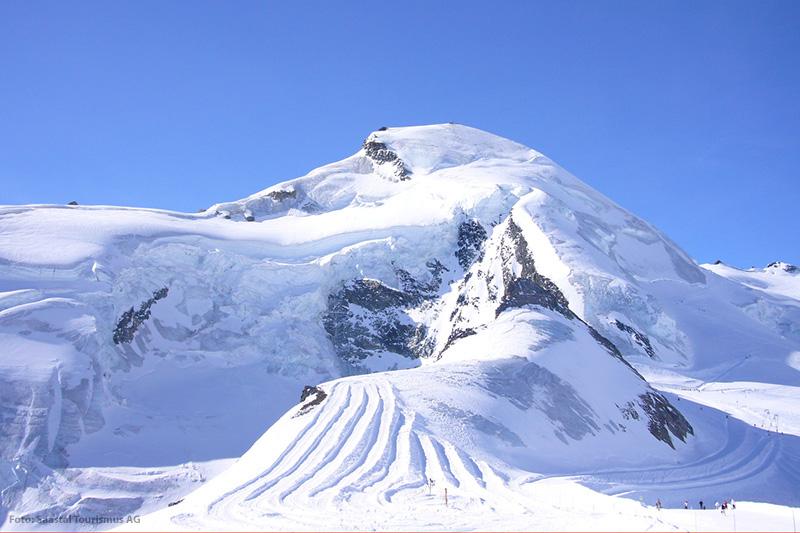 Allalinhorn - Gipfel in der Schweiz