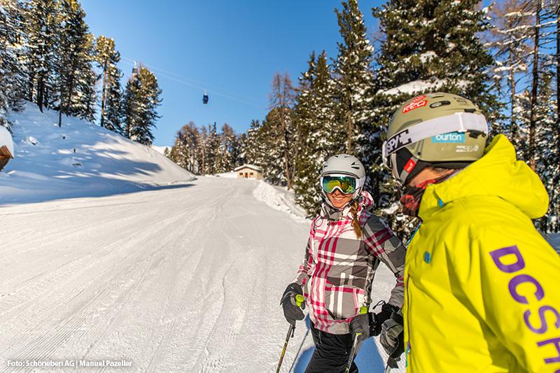 Skiurlaub im Skigebiet Schöneben: 65 Pisten-km und 11 Aufstiegsanlagen