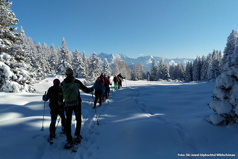 Schneeschuhwanderung in der Wildschönau