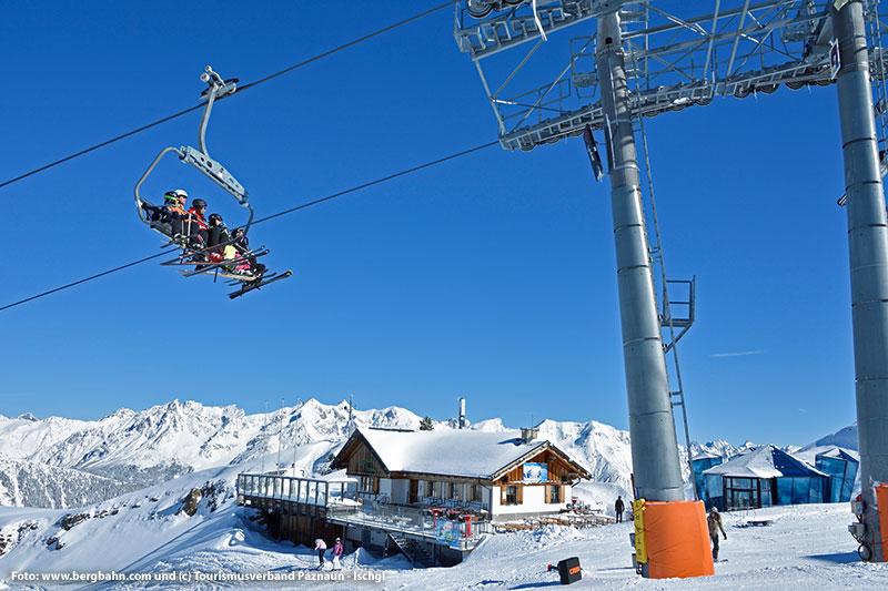 Sesselbahn Zeinisbahn im Skigebiet See