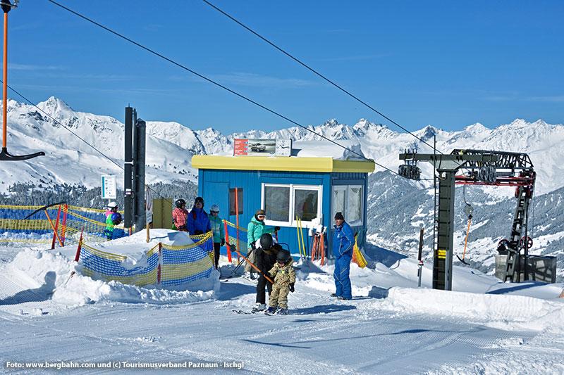 Das Skigebiet See ist für Anfänger geeignet