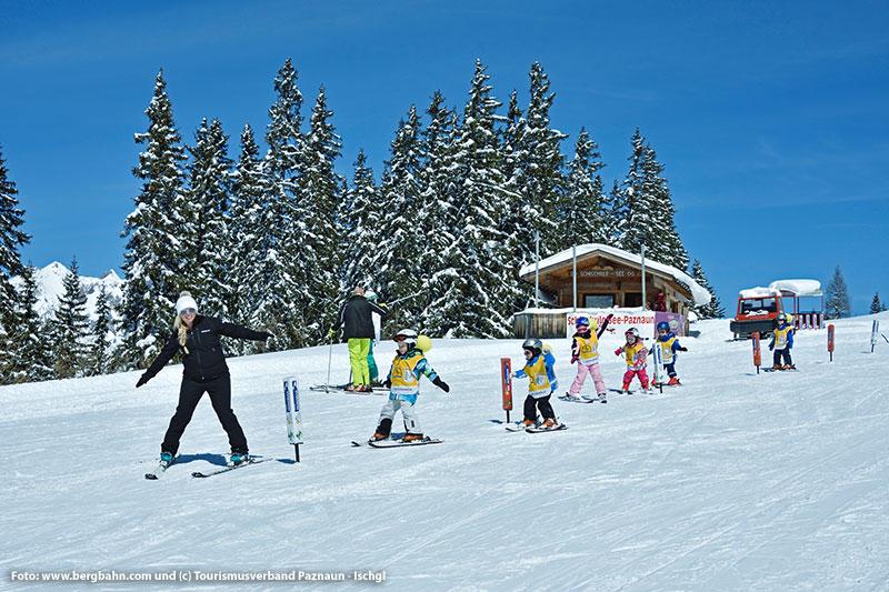 Skigebiet See Skikurs