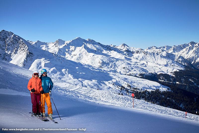 Skigebiet See im Paznaun/ Tirol